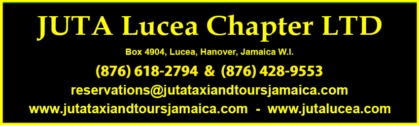 JUTA Taxi and Tours Jamaica.com - JUTA Taxi and Tours Jamaica.net - JUTA Lucea.com - JUTA Lucea.net